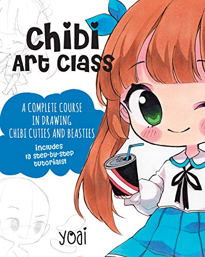 In Chibi Art Class, renowned anime artist Yoaihime teaches you the art of chibi, step by adorable step.