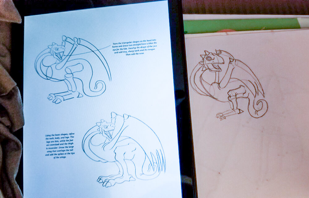 Drawing Dragons teaches you how to draw from start to finish. Featuring step-by-step lessons on drawing legendary dragons from around the world.