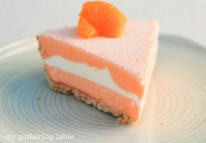 Creamsicle Ice Cream Pie