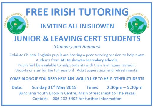 Irish tutoring