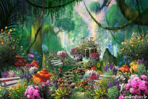 Honey Bees garden