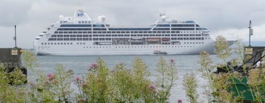 Cruise Ship at Greencastle