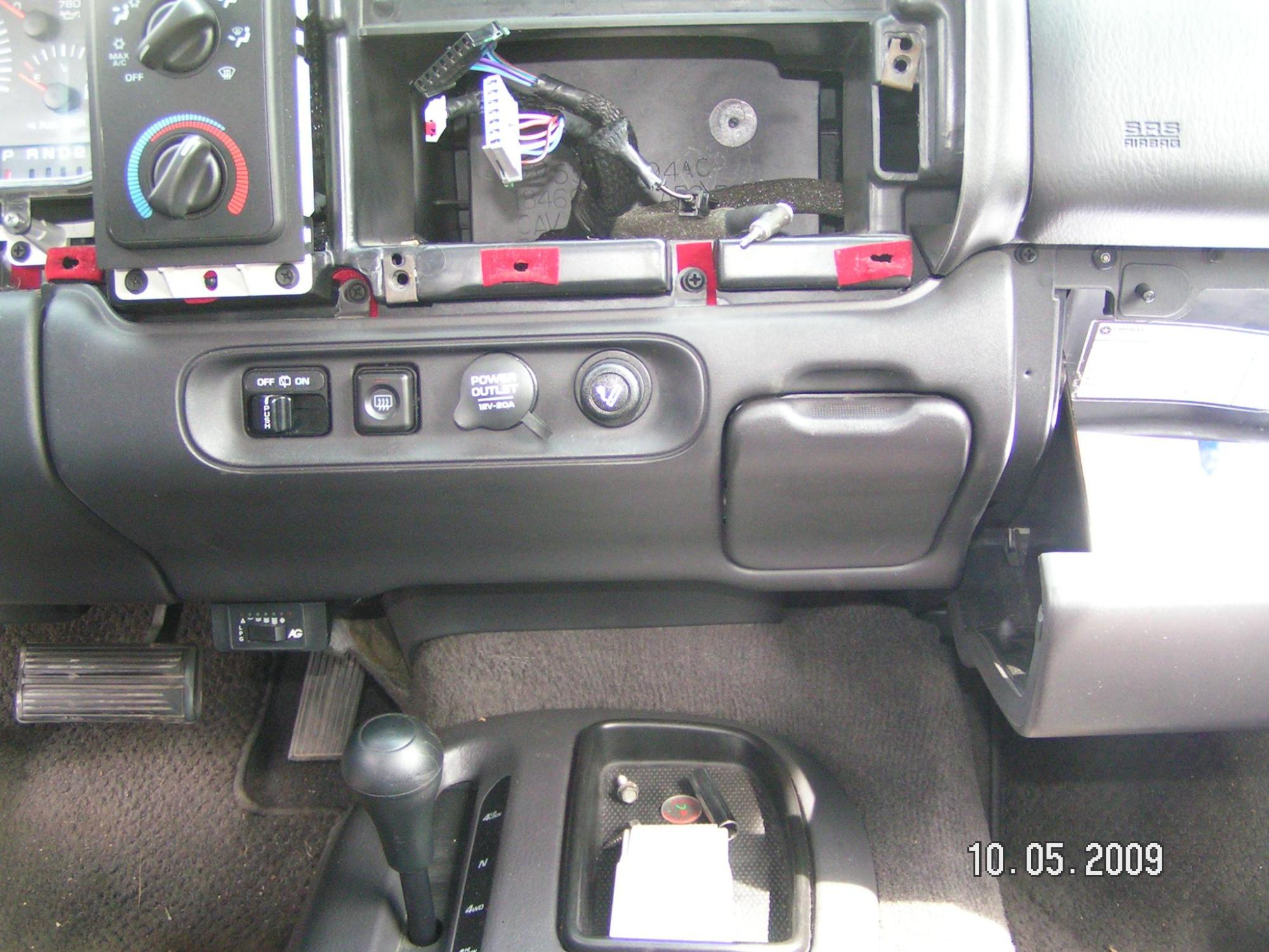 hight resolution of 2000 dodge dakotum under dash wiring