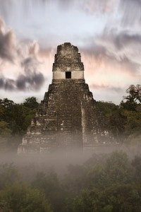 Tikal Templo I dawn 2, by professional photography Craig Denis