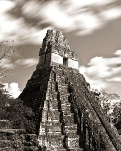 Tikal Templo I_02 BW, by professional photographer Craig Denis