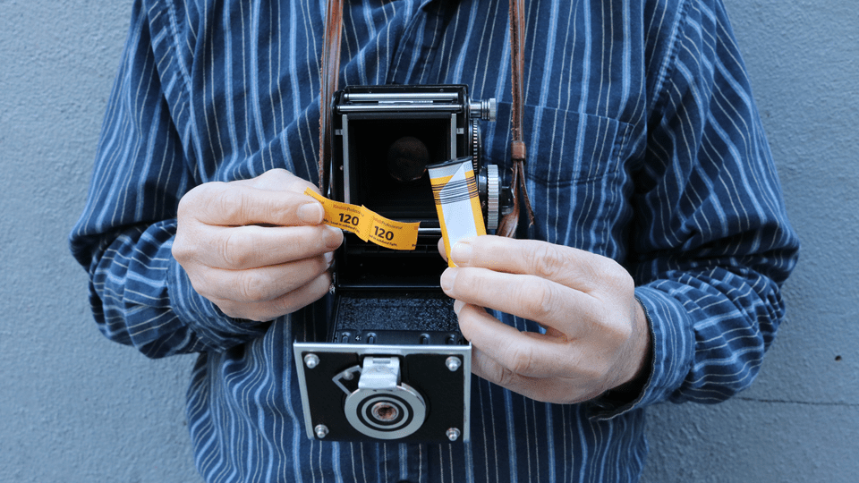 The Wonderful World of Rolleiflex TLR Photography: Loading Film