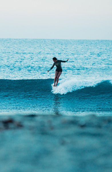 Kassia Meador photographed for ROXY Spring 2012 Kassia Wetsuits