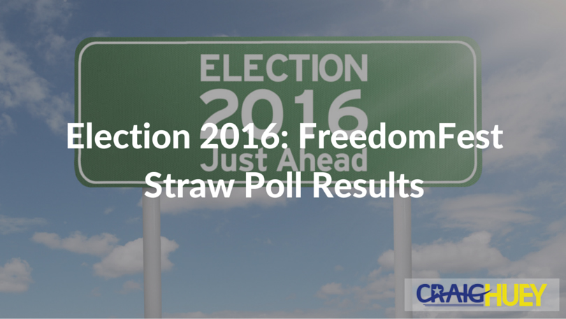 Election 2016: FreedomFest Straw Poll Results