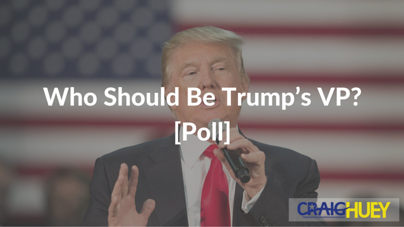Who Should Be Trump's VP? [Poll]