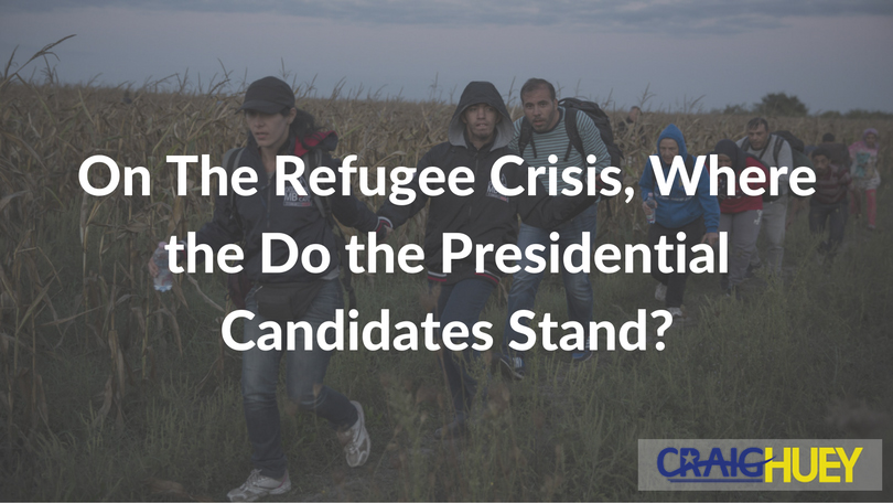 On The Refugee Crisis, Where the Do the Presidential Candidates Stand?