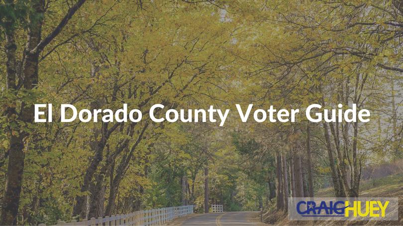 El Dorado County Voter Guide