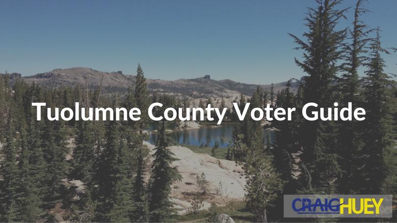 Tuolumne County Voter Guide