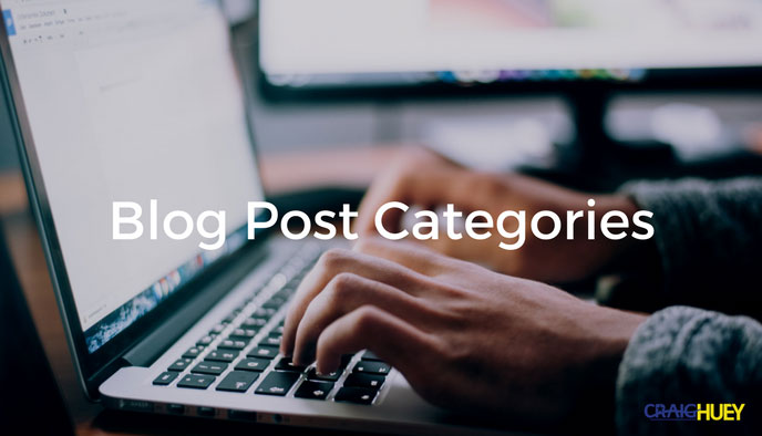 Blog Post Categories