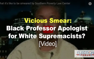 Vicious Smear: Black Professor Apologist for White Supremacists? [Video]
