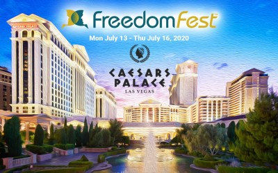 Special Invitation:  Join me at this year's FreedomFest 2020