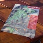 Craigieburn Trails Microfibre Trail Map