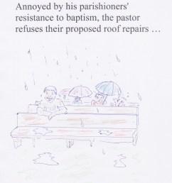 leaky roof baptism [ 2058 x 2355 Pixel ]