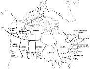 CanadaInfo: Images & Downloads: Fact Sheets to Download: Maps