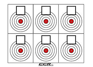 free printable shooting target # 33