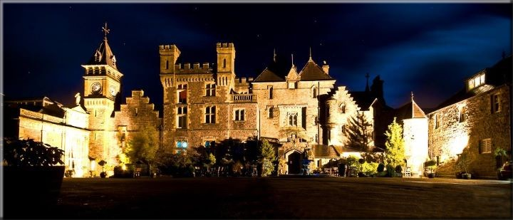 Castle Wedding Venues In South Wales Exclusively Yours Weddings In Wales At Craig Y Nos Castle