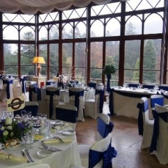 Chair Covers Wedding London Oversized Chaise Lounge Chairs Indoor Conservatory Breakfast Room 71 Craig Y Nos Castle Weddings An Innovative Tube Themed At S In Wales