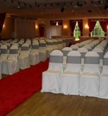 chair covers for hire south wales harry bertoia weddings in at craig y nos castle got it covered wedding