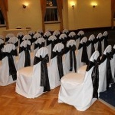 chair covers for hire south wales dollar tree bunny weddings in at craig y nos castle got it covered wedding