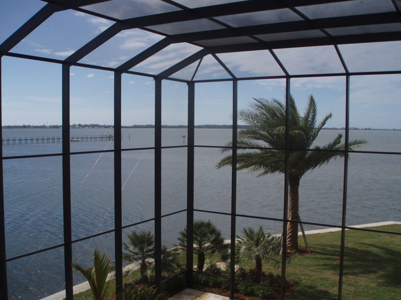 Pool Cage 003 Commercial Residential Aluminum Sarasota