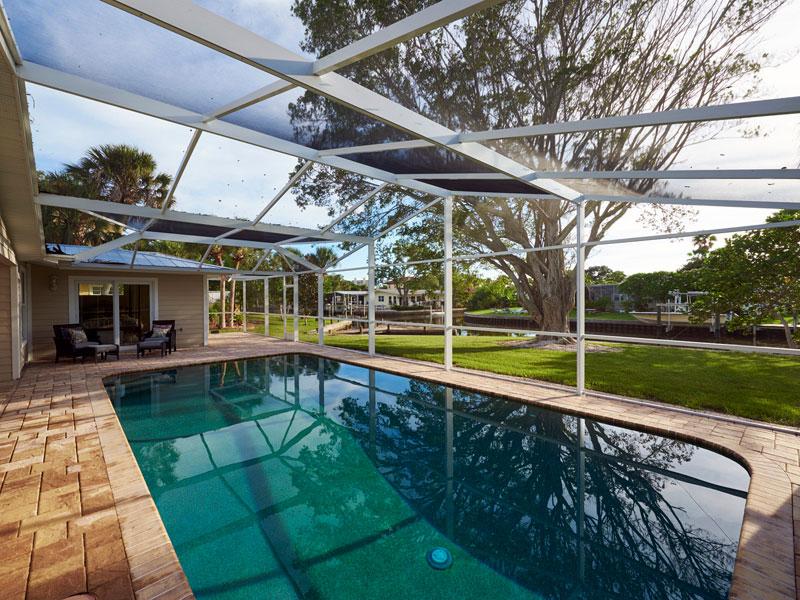 Sarasota Pool Enclosure