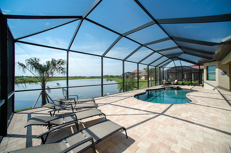 pool cage pool enclosure