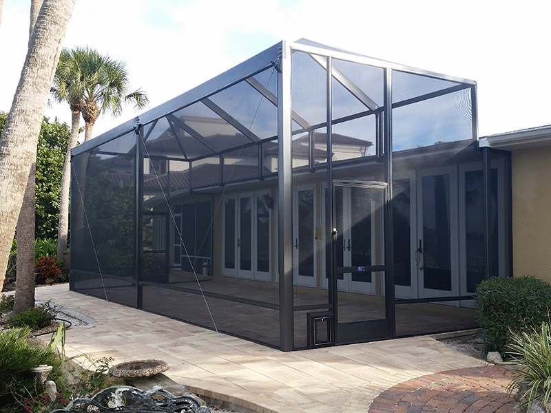 Lanai Extended After Commercial Residential Aluminum