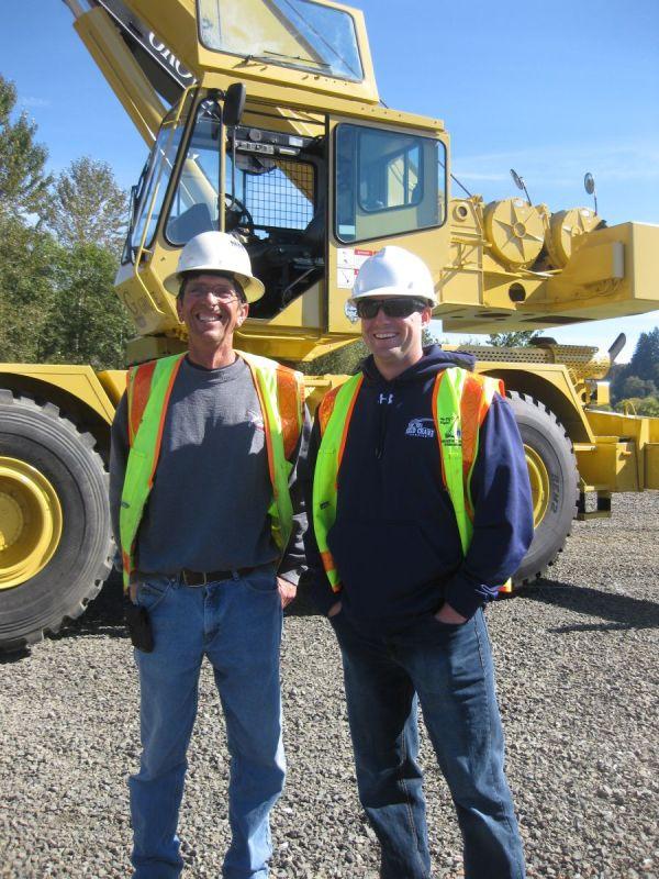 Pacific Northwest Operators Compete Positions In Crane