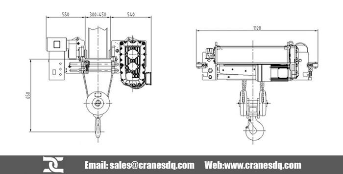 Difference of CD and ND Wire Rope Hoist, Select Your