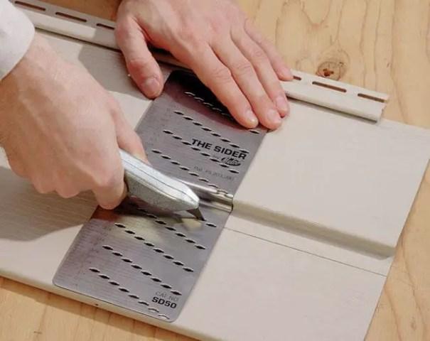 vinyl siding tool