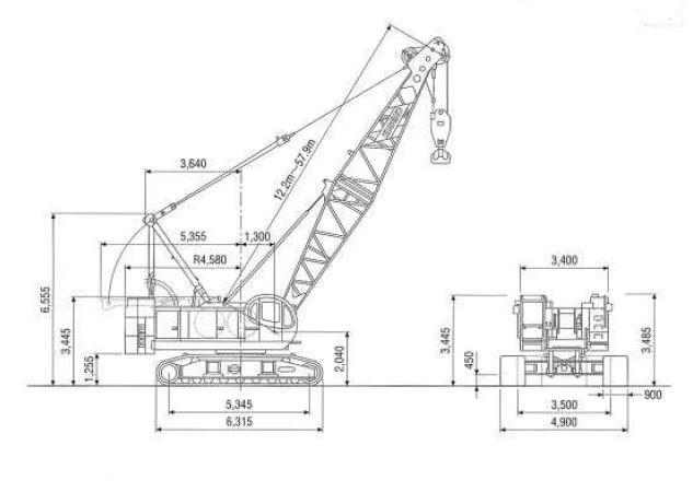 Track Rollers For KOBELCO 7080-2 80 Ton Lattice Boom