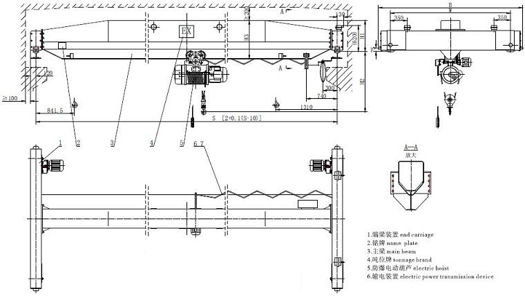 Explosion-proof Single Girder Crane_Explosion-proof Single