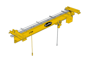 Underhung Single Girder Bridge Crane