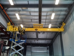 Installed Under hung Bridge Crane