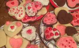 Sugar Cookies and Chocolate Cut Out Cookies