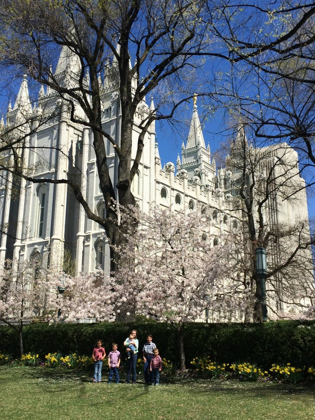 Visiting Temple Square Cranial Hiccups