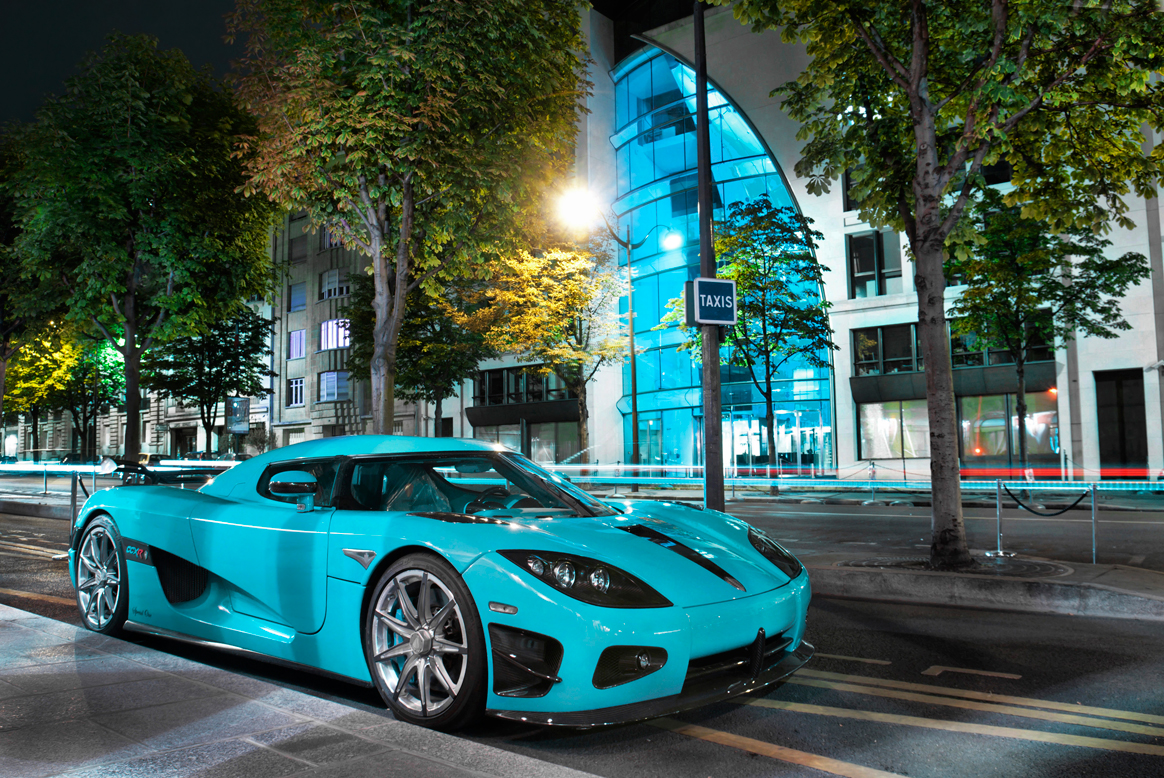 Out on the Street Qatari Koenigsegg  crankandpistoncom