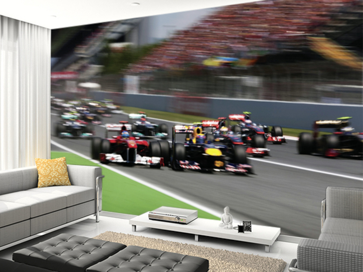 Formula 1 Darren Heath Wall Murals