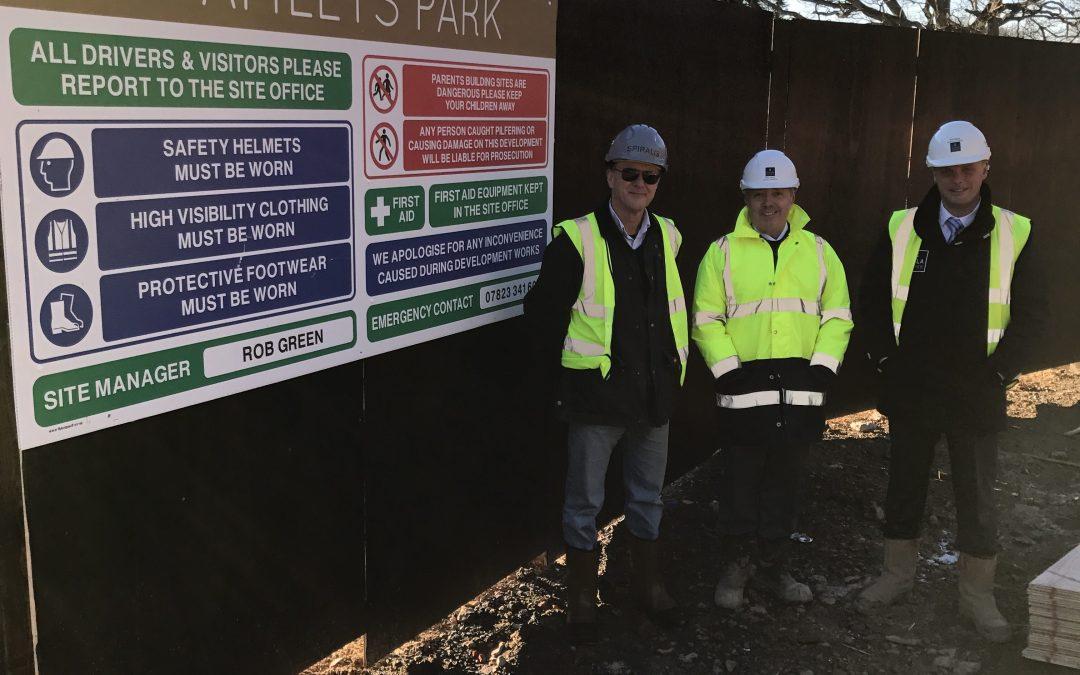 Society Visits Amlets Site