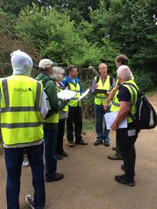 River Search training with Surrey Wildlife Trust