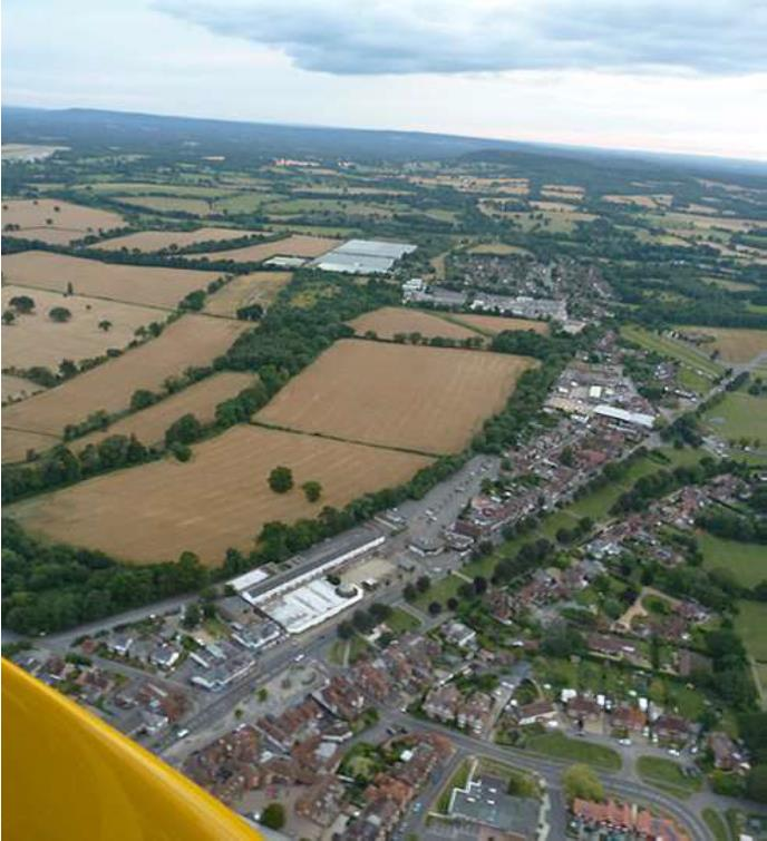 Cranleigh aerial photo