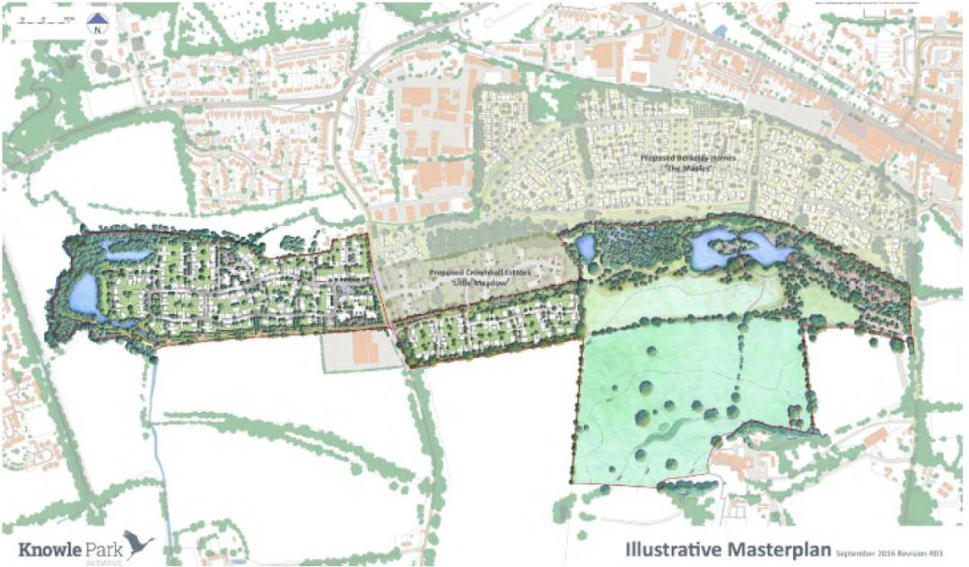 Masterplan for Cranleigh