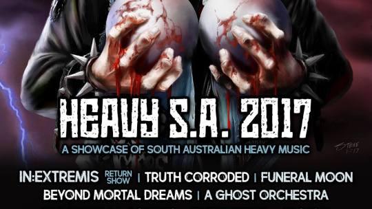 Heavy SA Fest,8thof April 2017