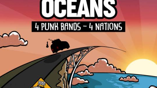 "Crannk Reviews ""Bridging Oceans"" album 4 punk bands 4 Nations"