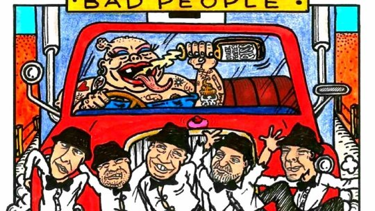 """Crannk Reviews The Packets – """"Bad People"""" album"""