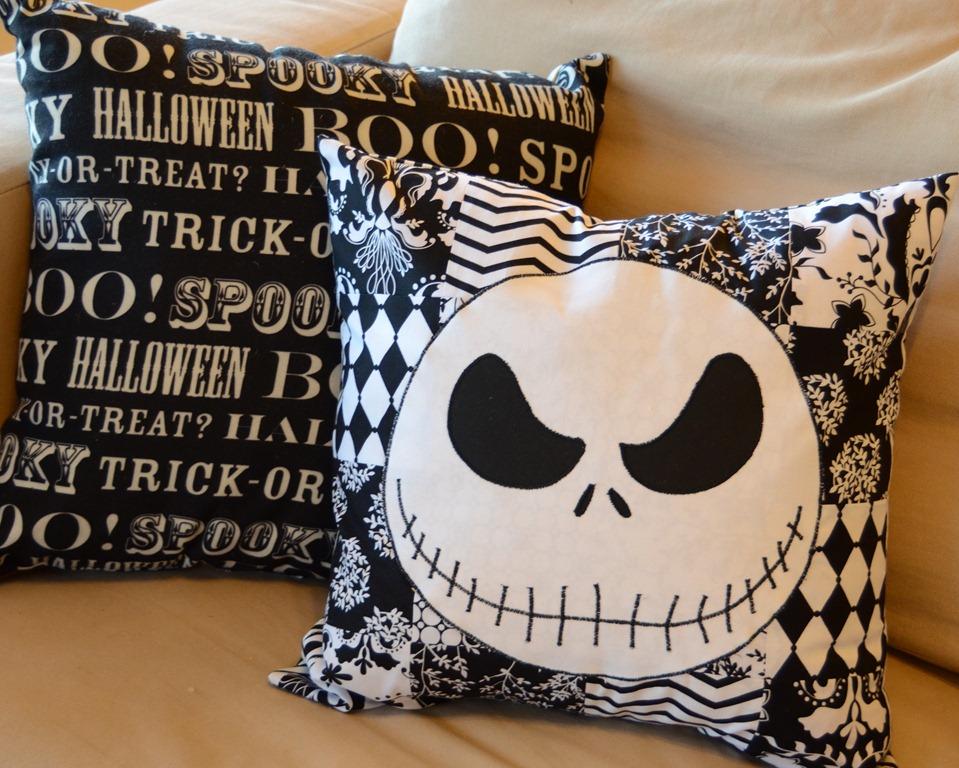 Jack Skellington Pillow Crap I've Made
